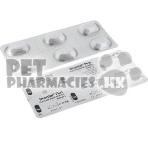 Drontal Plus Flavour Bone Shaped (Praziquantel/Pyrantel